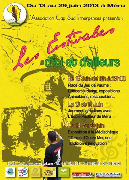 Affiche Estivales d'Ici et d'Ailleurs, 2013
