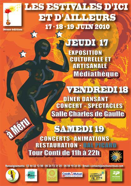 Affiche Estivales d'Ici et d'Ailleurs, 2010