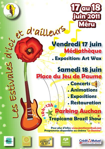 Affiche Estivales d'Ici et d'Ailleurs, 2011