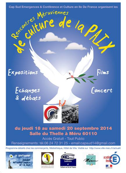 Affiche JOurnée de la Paix 2014