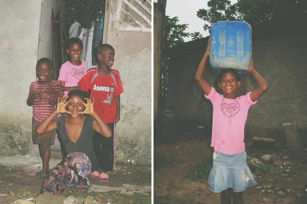petites filles au village pitti-gare