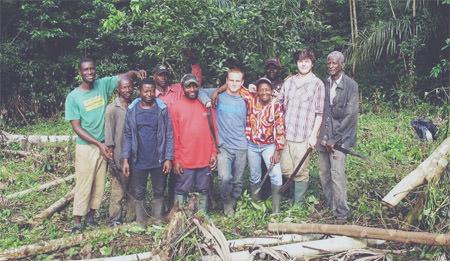 étudiants LaSalle au Cameroun