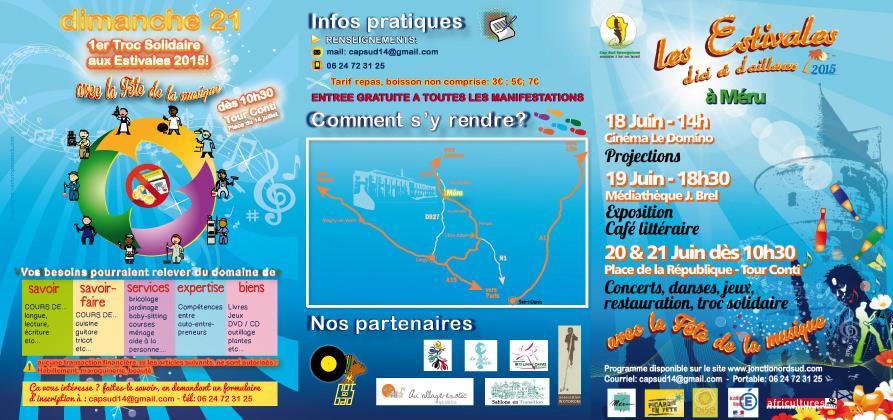 Programme Estivales d'Ici et d'Ailleurs, 2015, JOnction Nord Sud